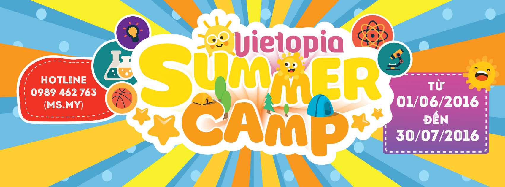 VIETOPIA SUMMER CAMP 2016