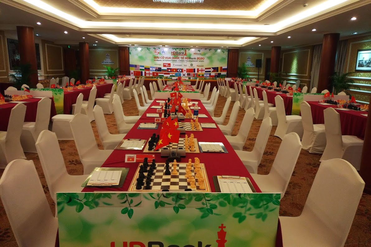 10th HDBank international chess tournament 2020